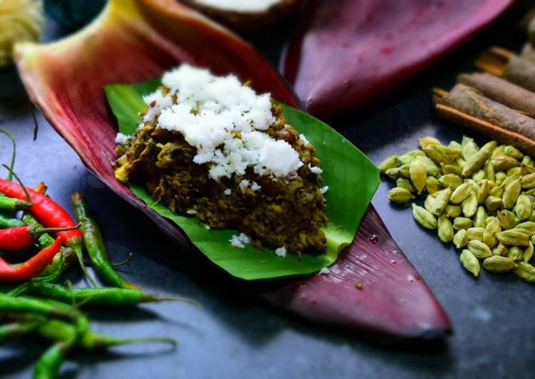 traditional banana blossom curry recipe main photo