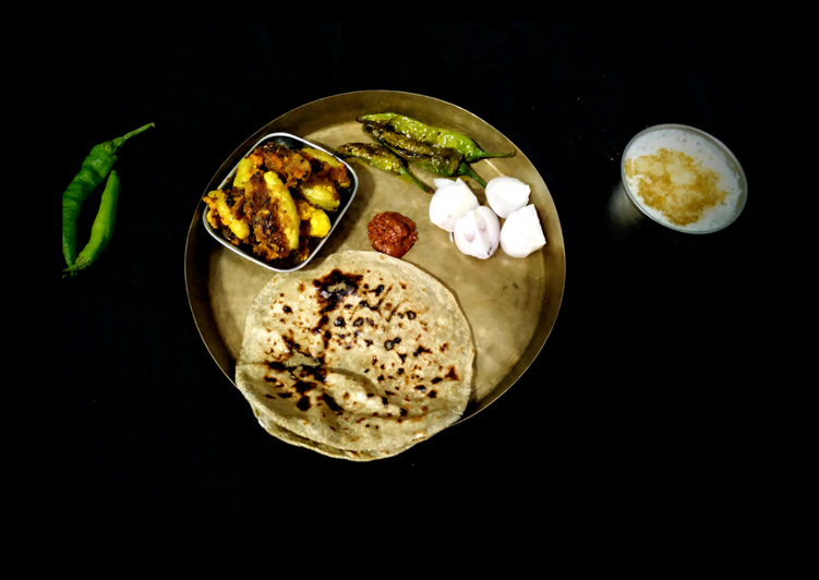traditional bharwa meal recipe main photo