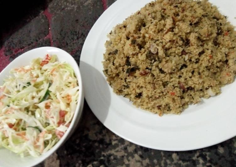 traditional dambun couscous by fatima umar ali recipe main photo