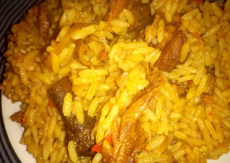 traditional hausa jollof rice recipe main photo 1