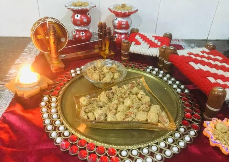 traditional punjabi panjiri recipe main photo 1