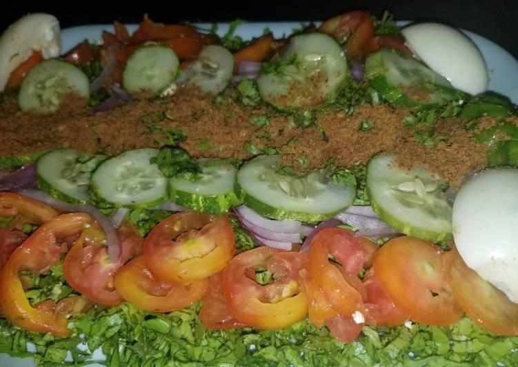 African Food Traditional Salad