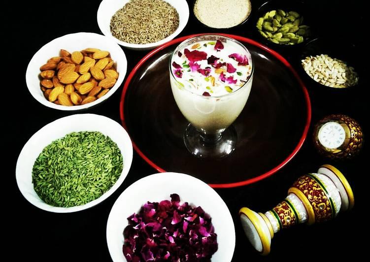 traditional thandai instant mix recipe main photo 1