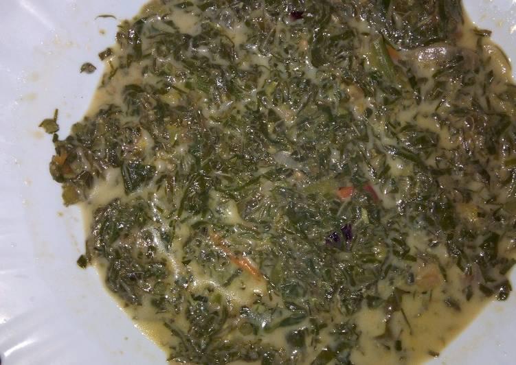 traditional vegetables kienyeji recipe main photo