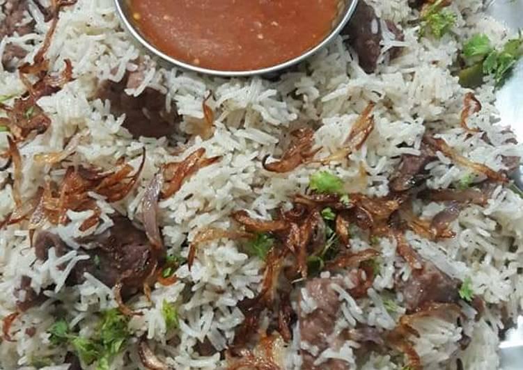 traditional yakhni pulao recipe main photo