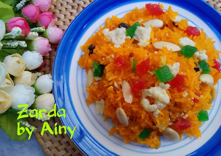 African Food Traditional Zarda