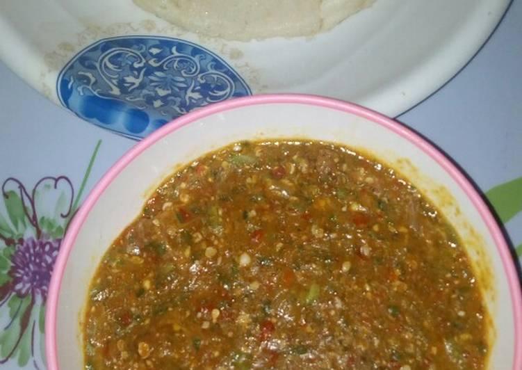 tuwon semo with okro soup recipe main photo
