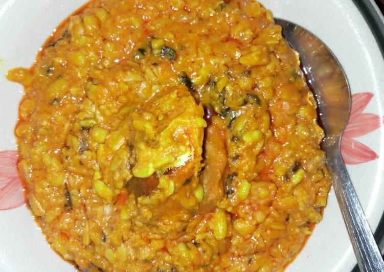 ukwa with bitterleaf recipe main photo