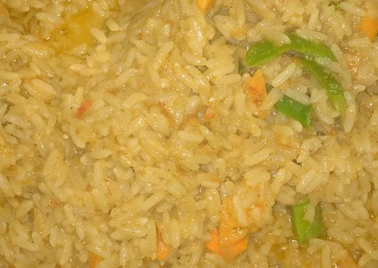 vegetable coconut rice and fish recipe main photo