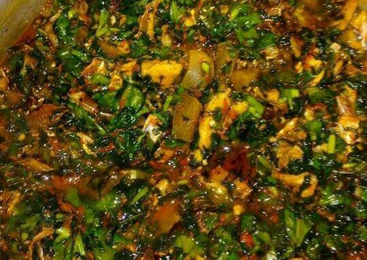 vegetable soup edikaikong recipe main photo