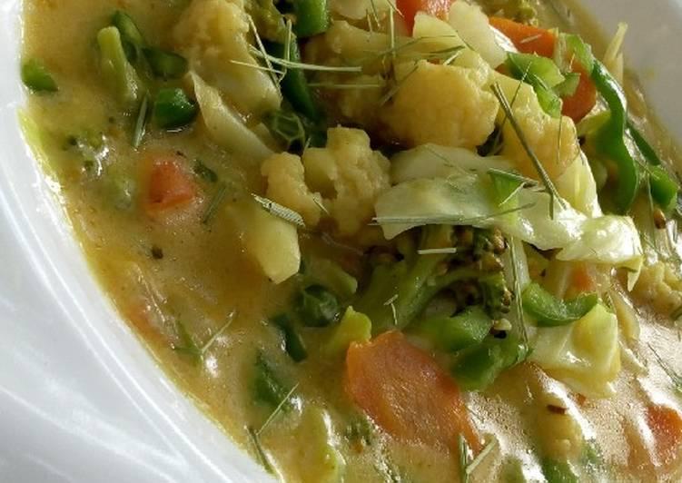 vegetables soup recipe main photo 2