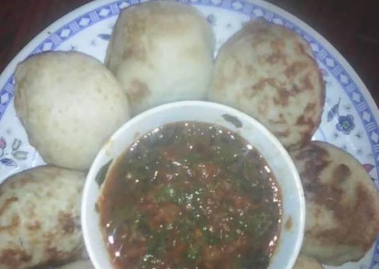 Traditional African Foods Waina (Masa)