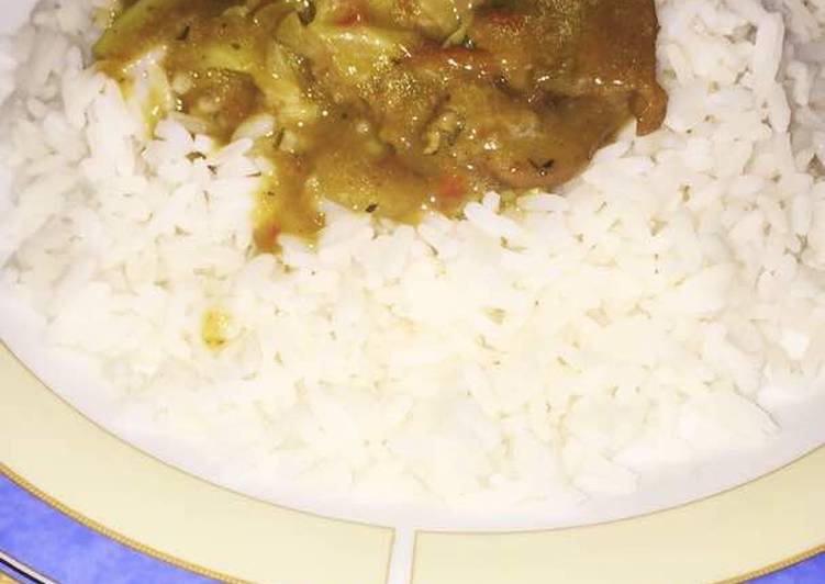 white rice with vegetable soup recipe main photo 2