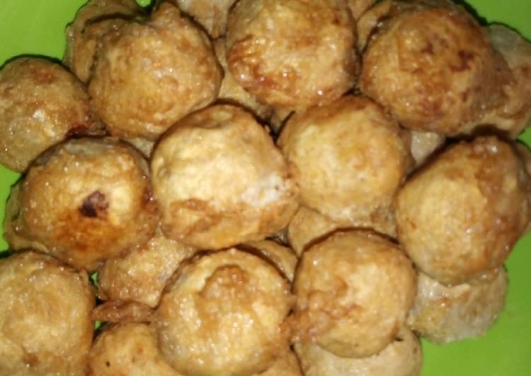 African Food Yam ball