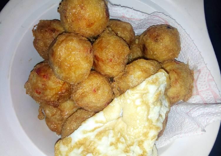 African Cuisine Yam Ball