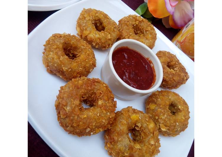 Traditional African Foods Yam Donuts