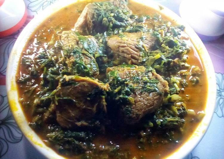 zion afang soup recipe main photo