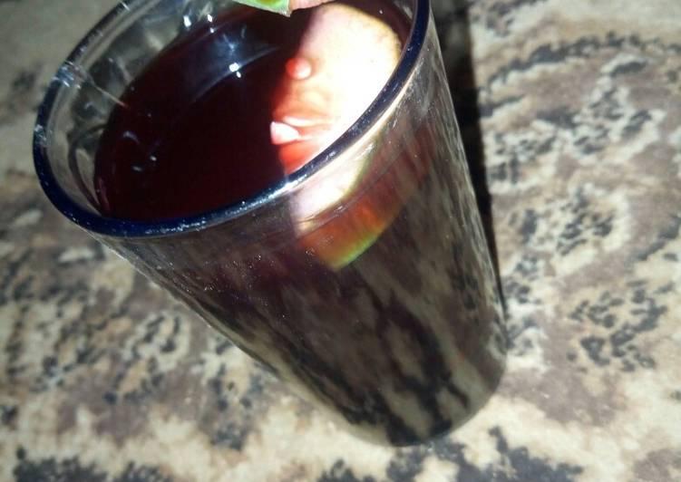 African Cuisine Zobo drink