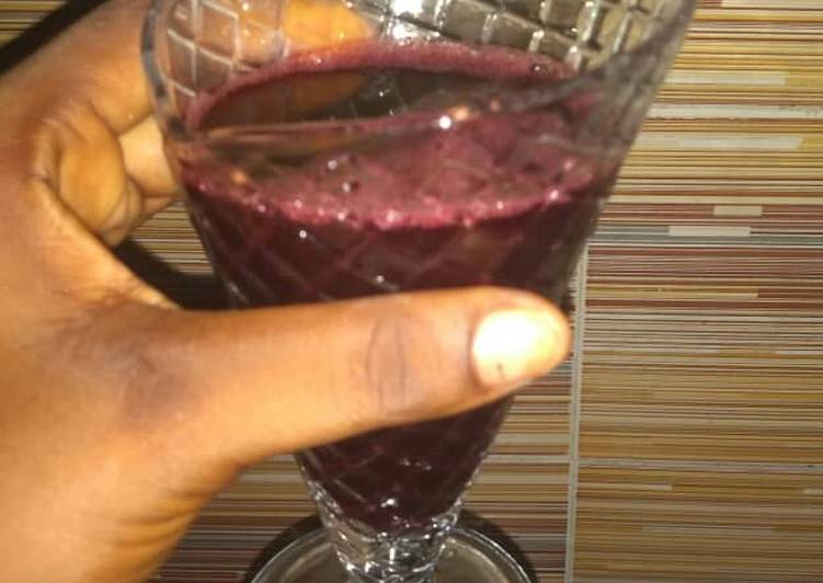 African Dish Zobo drink