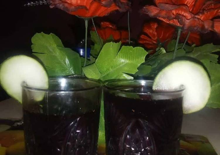 Traditional African Foods Zobo drink