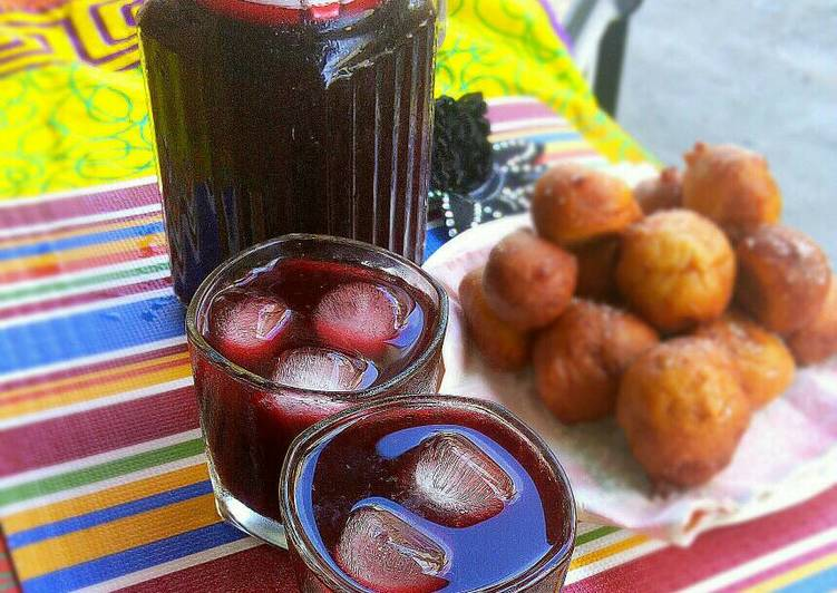 zobo drinkhibiscus recipe main photo